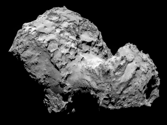Comet 67P on 3 August 2014