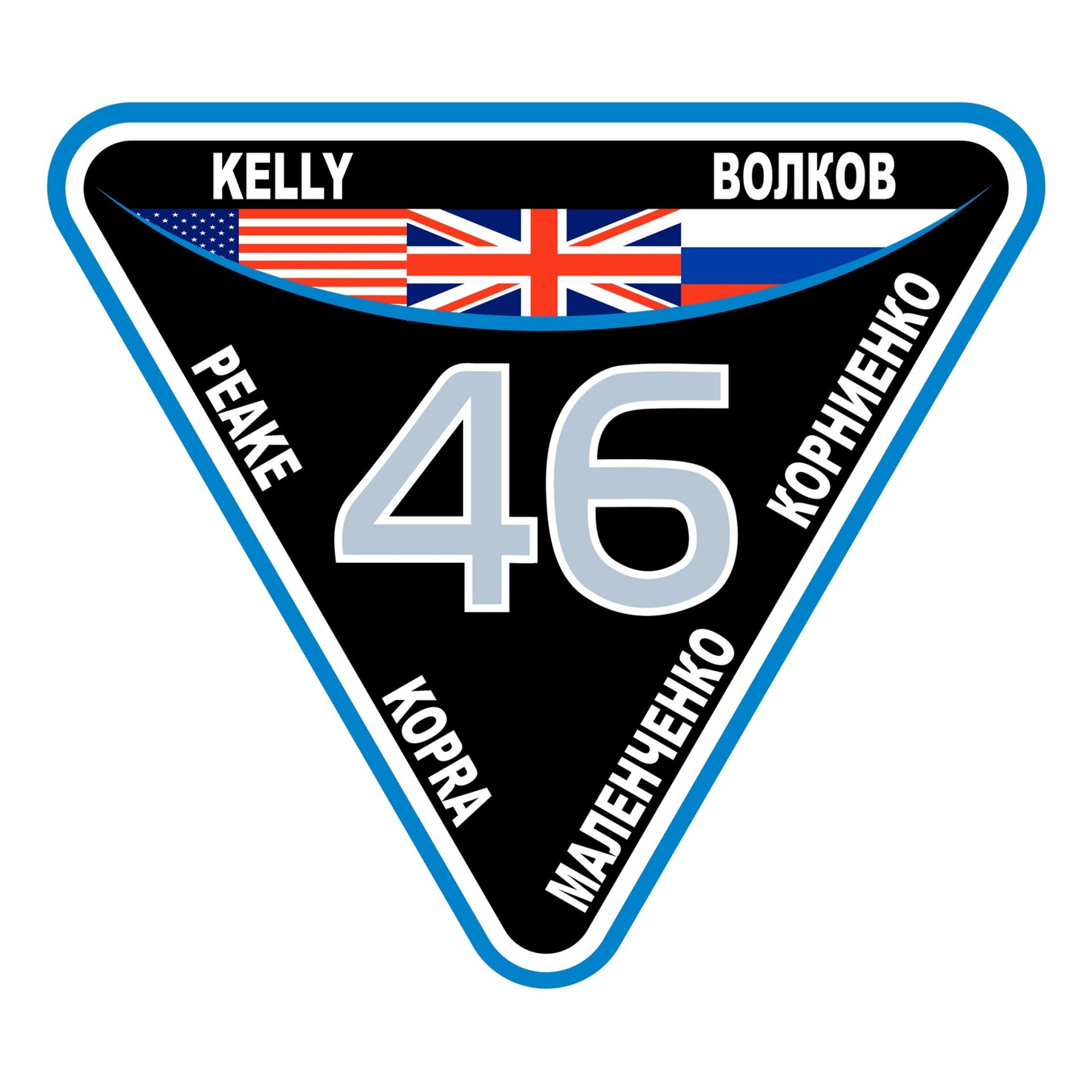 ISS Expedition 46 patch, 2015