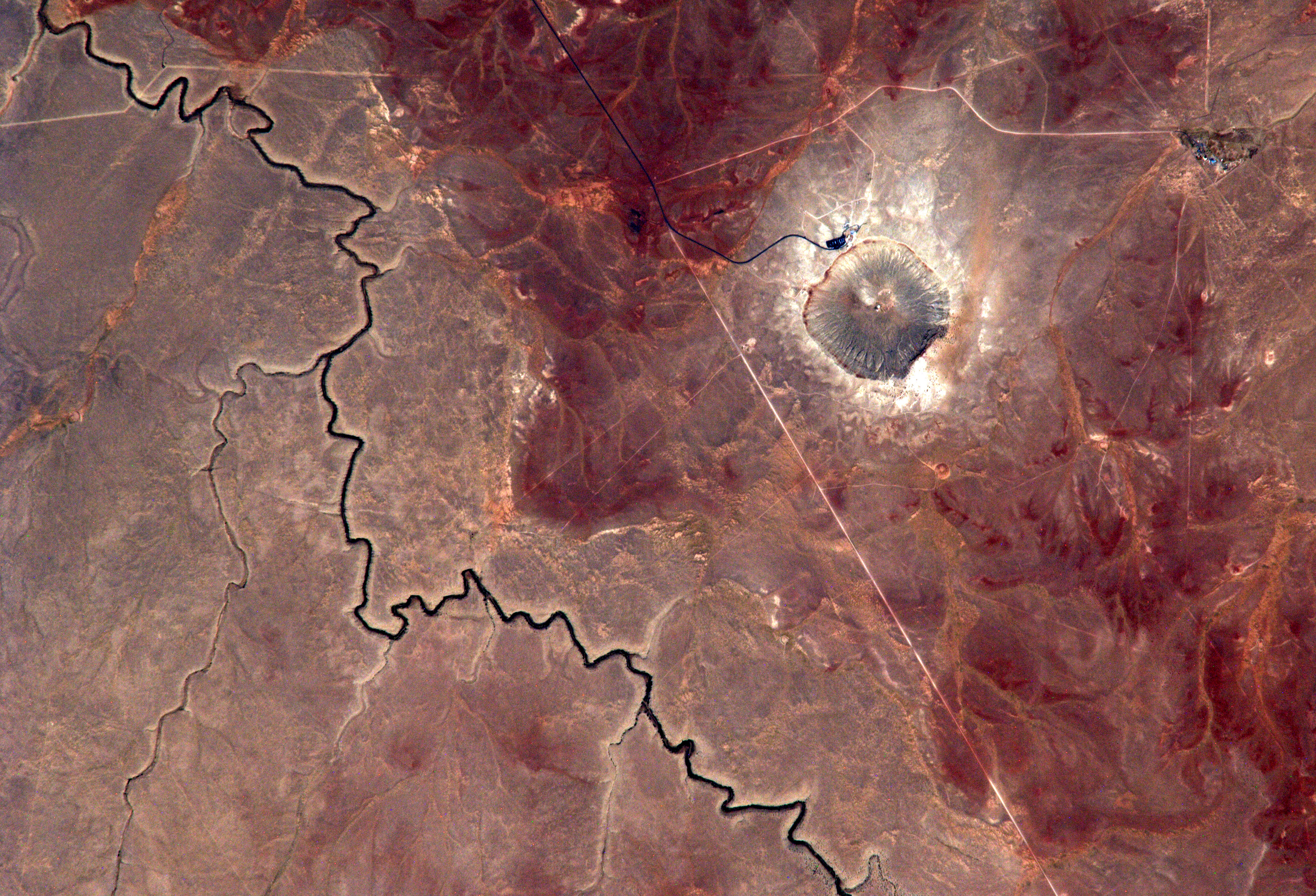 Space In Images 2014 08 Meteor Crater Arizona