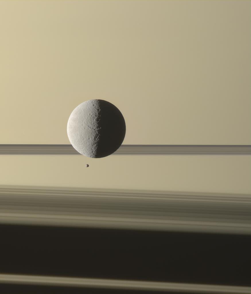 Малоизвестные спутники Сатурна