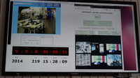 Screen showing live data flow between astronaut on the ISS and Rover on Earth via fault-tolerant next-gen network