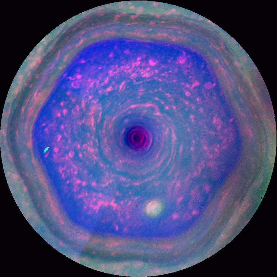 A cosmic hurricane