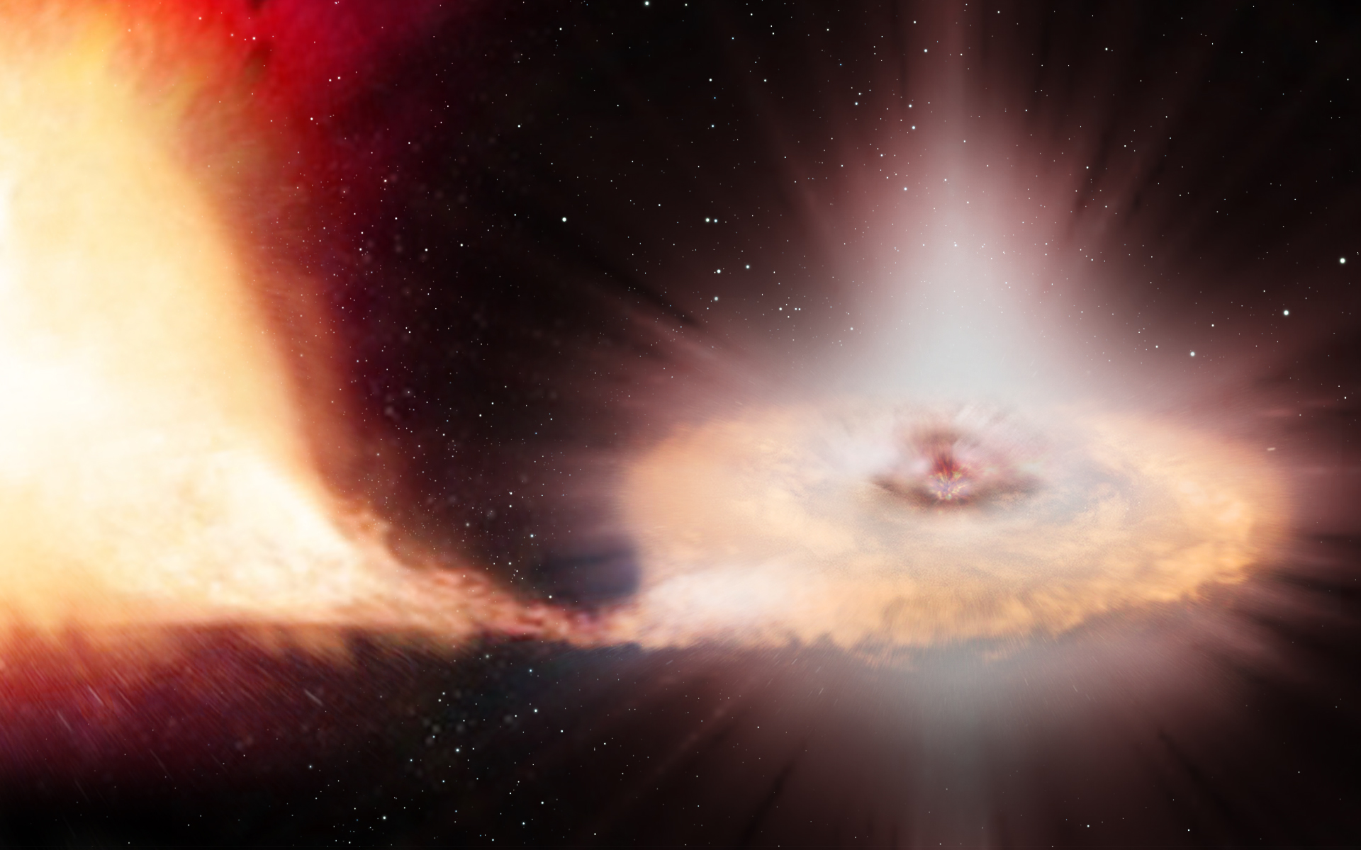 weniger helle galaxien