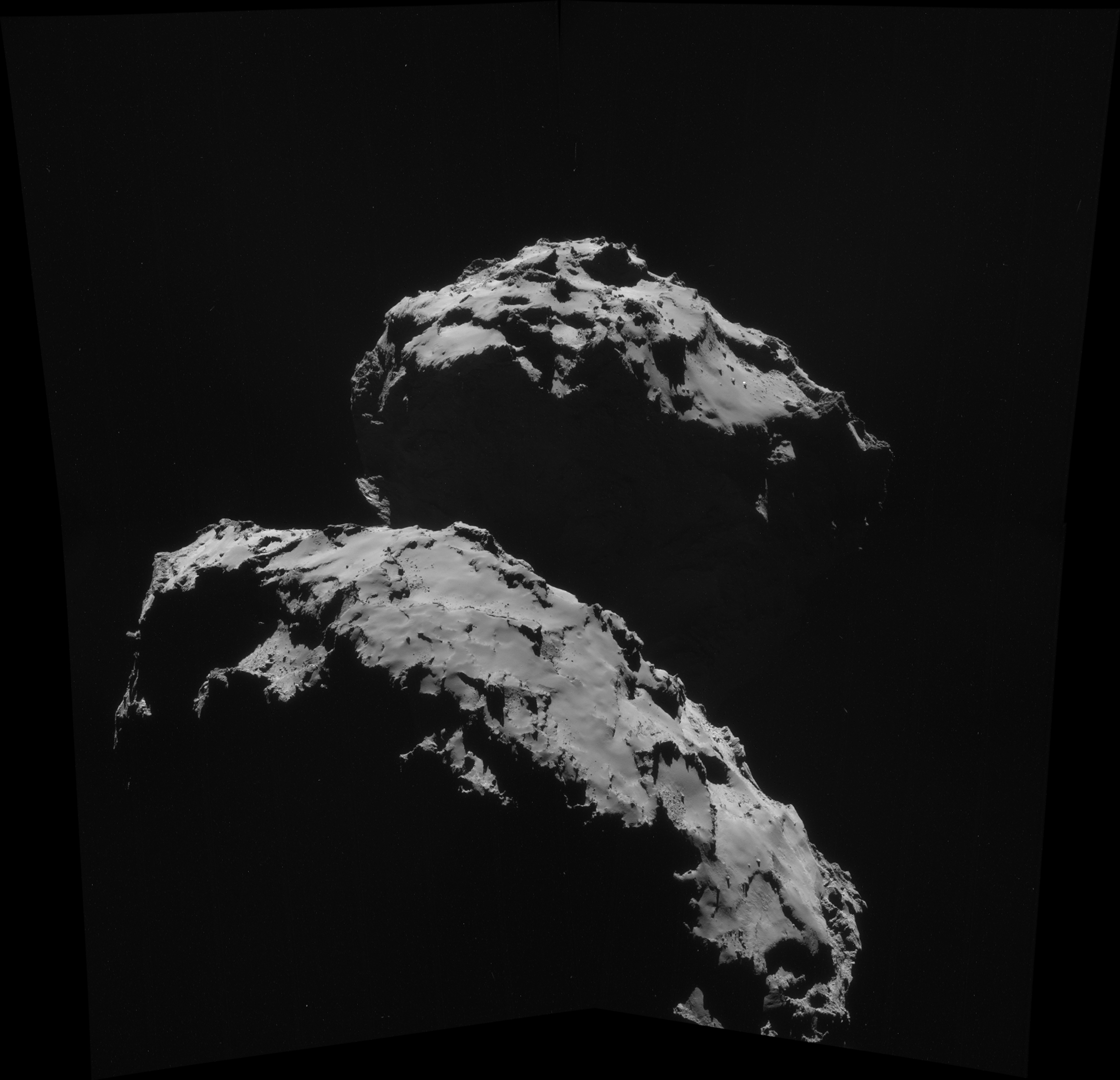 Space In Images 2014 09 Comet On 10 September Navcam Infrared Video Of A Hovering Nasa Lander 361 Mb