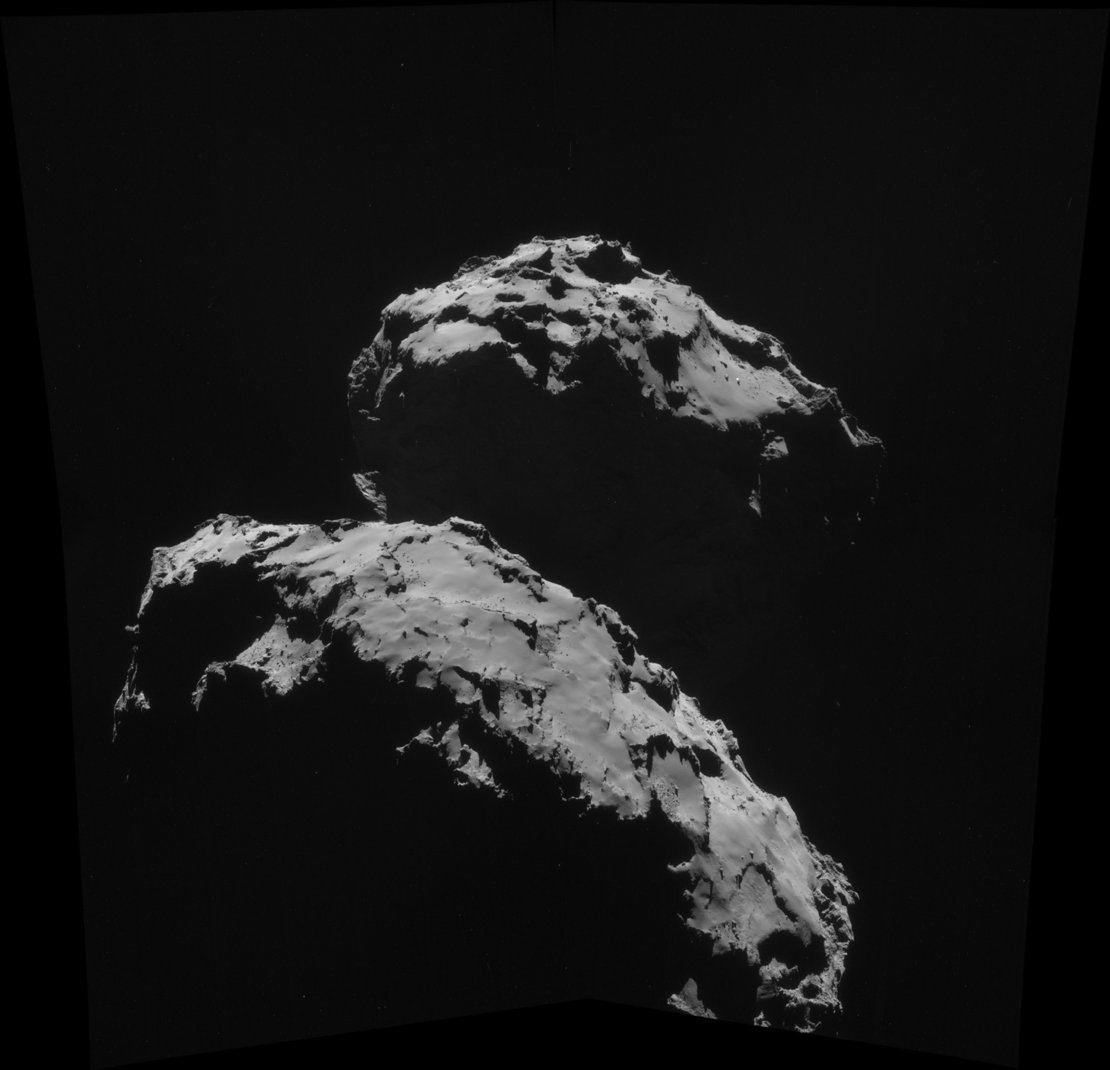 Comet on 10 September 2014 – NavCam