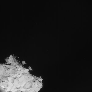 Comet on 2 September 2014 – NavCam (A)