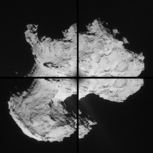 Comet on 2 September 2014 – NavCam montage