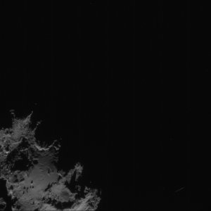 Comet on 7 September 2014 – NavCam (A)