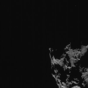 Comet on 7 September 2014 – NavCam (D)