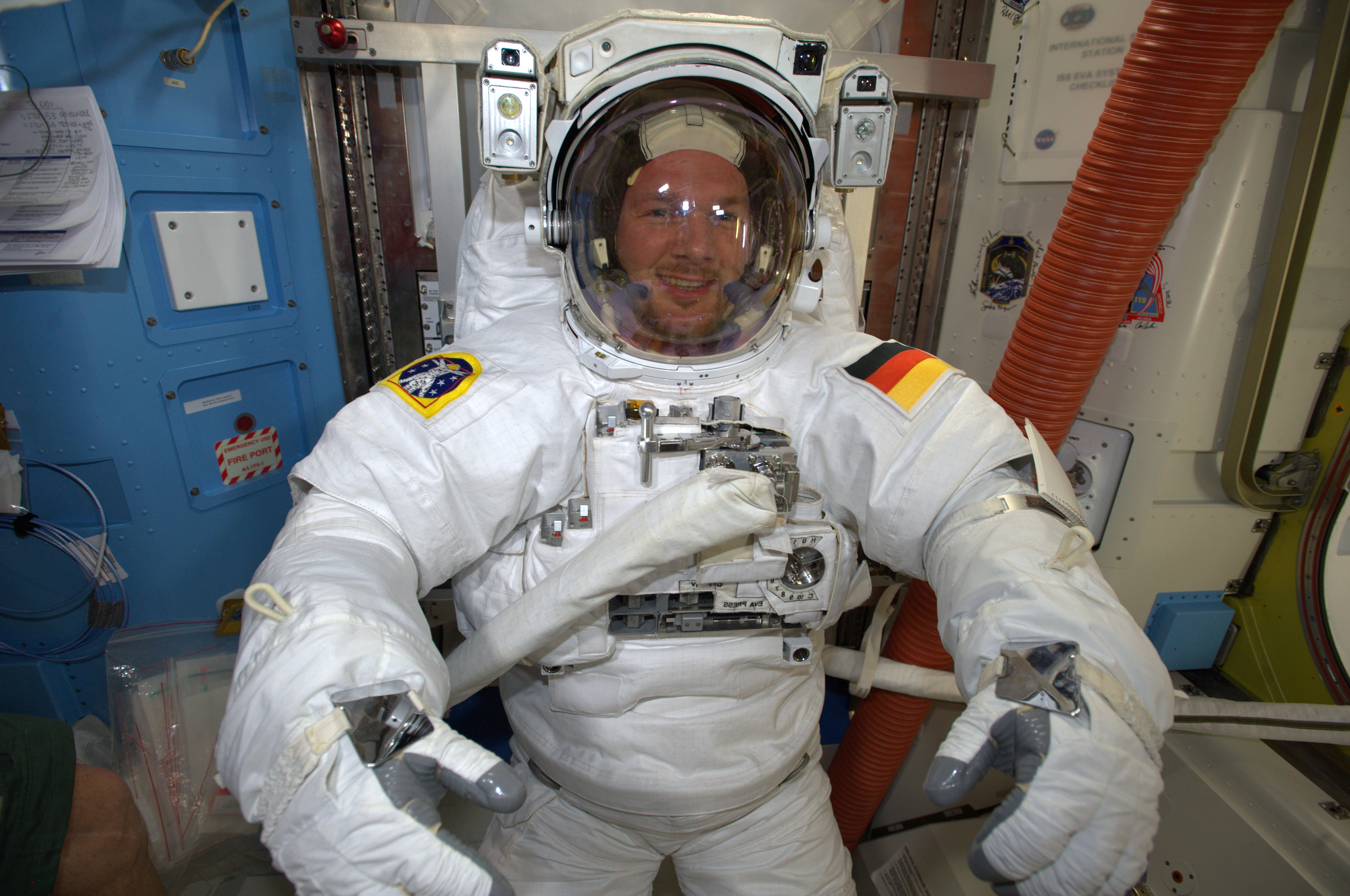 first esa astronaut in space - photo #35