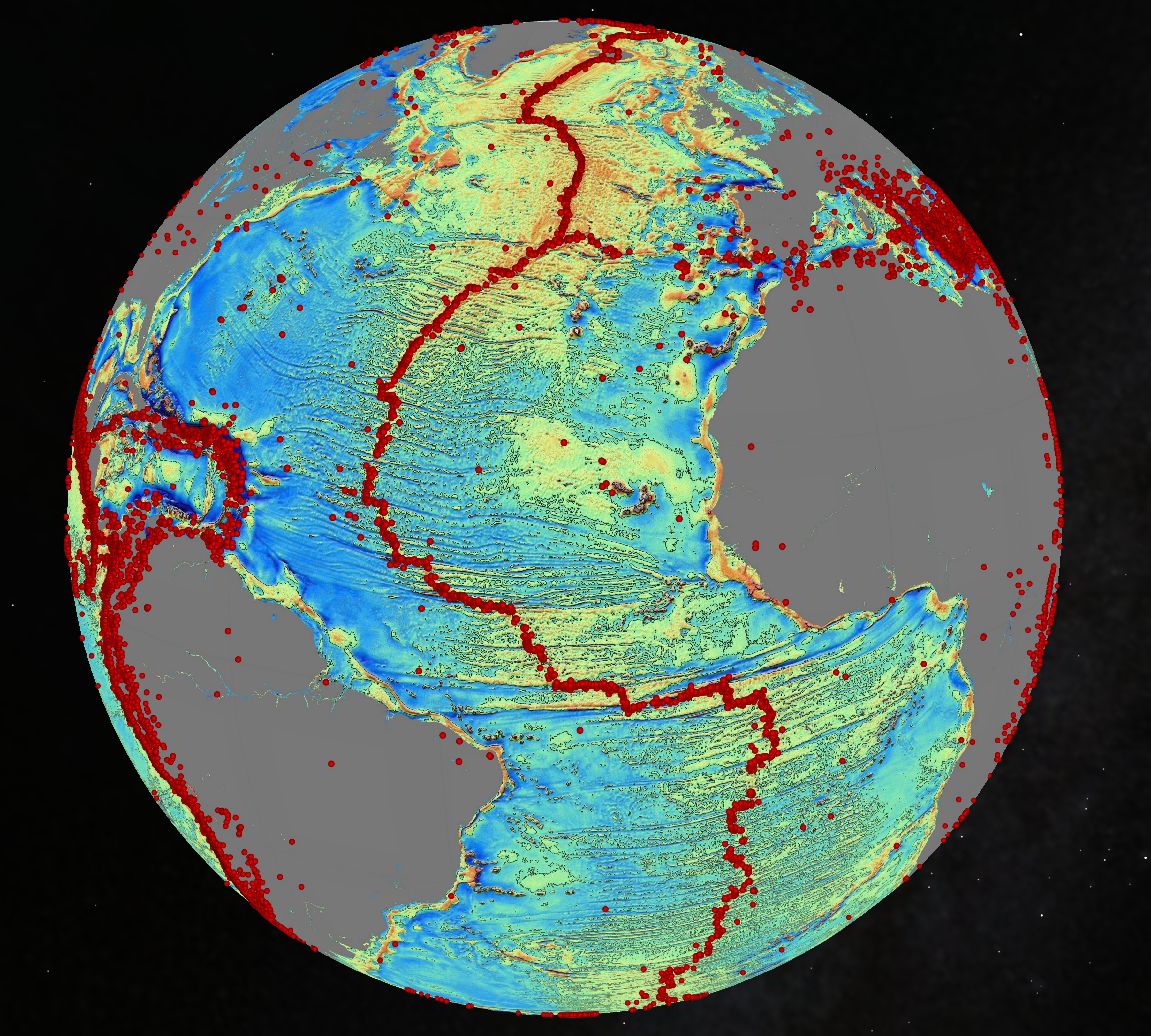 Gravity's Magic: New Seafloor Map Shows Earth's Uncharted