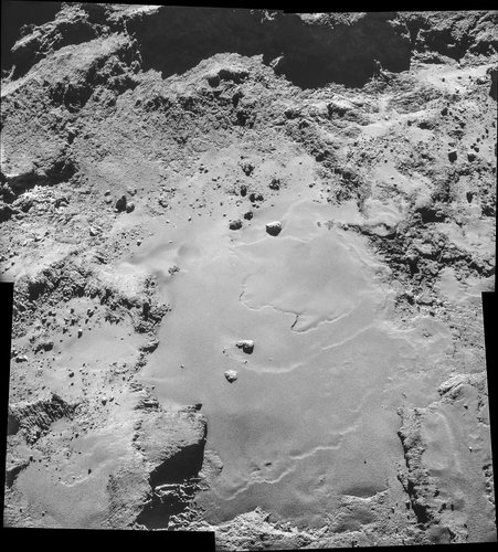 Comet on 26 October – NavCam