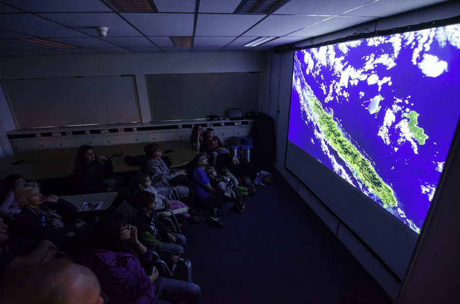 Earth observation chill-out room