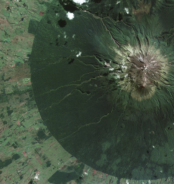 Egmont National Park New Zealand node full image 2 - ESA satellite pictures