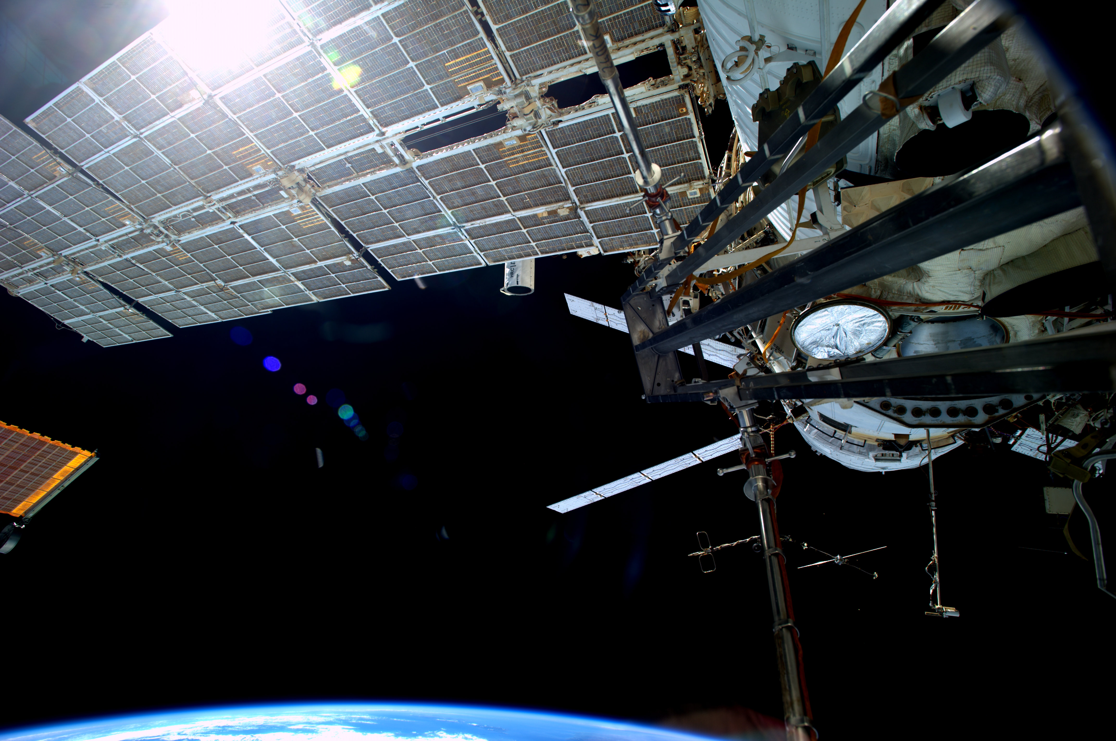 Satellite Debris Forces Space Station To Evade Threat ...
