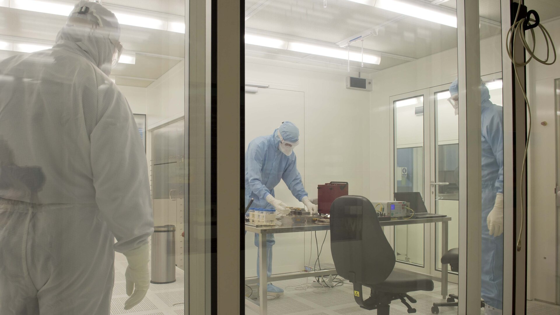 ISO1 cleanroom