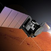 Mars Express monitored the flyby of comet Siding Spring on 19 October 2014