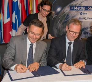 MetOp Second Generation contracts signature