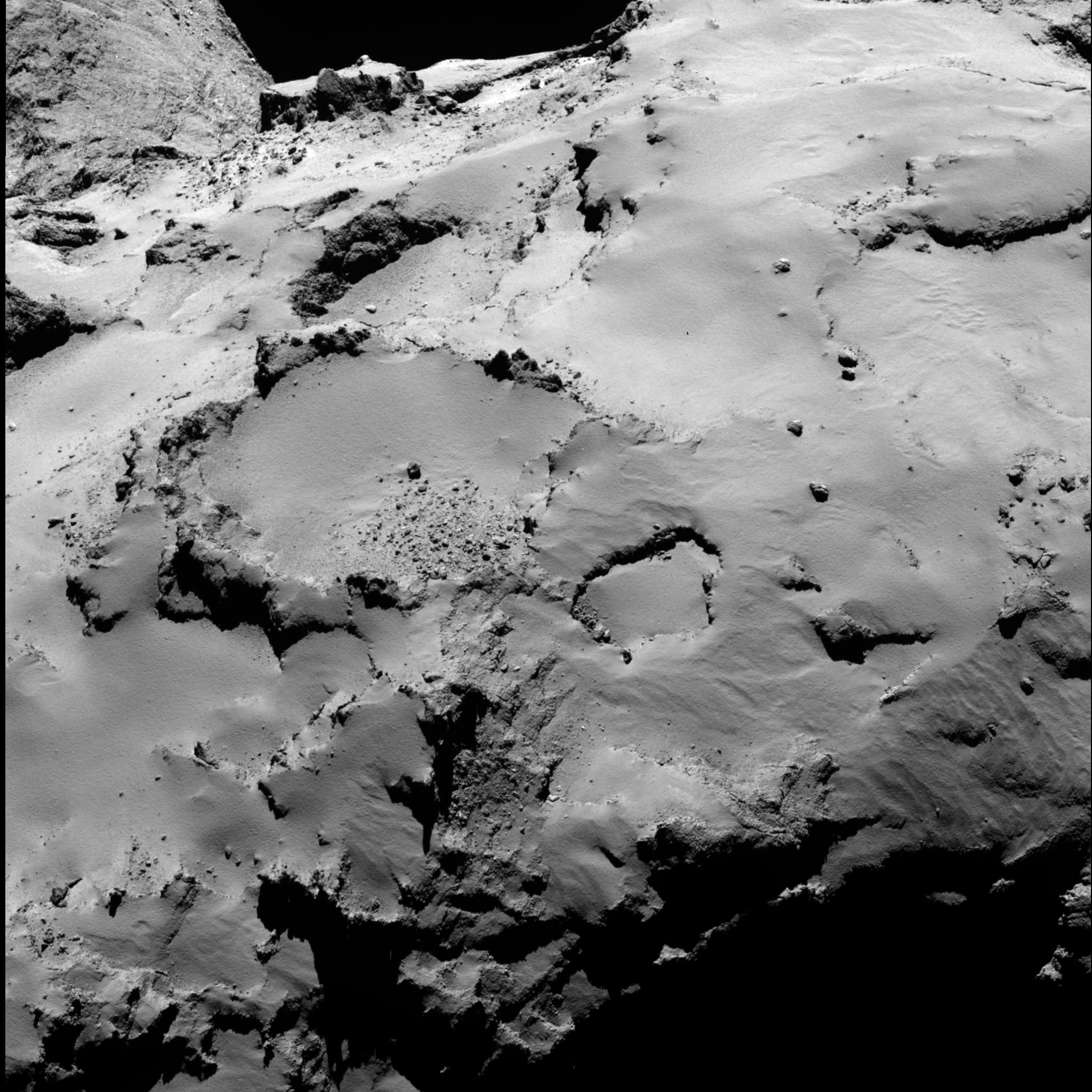 esa rosetta philae landing - HD1024×1024