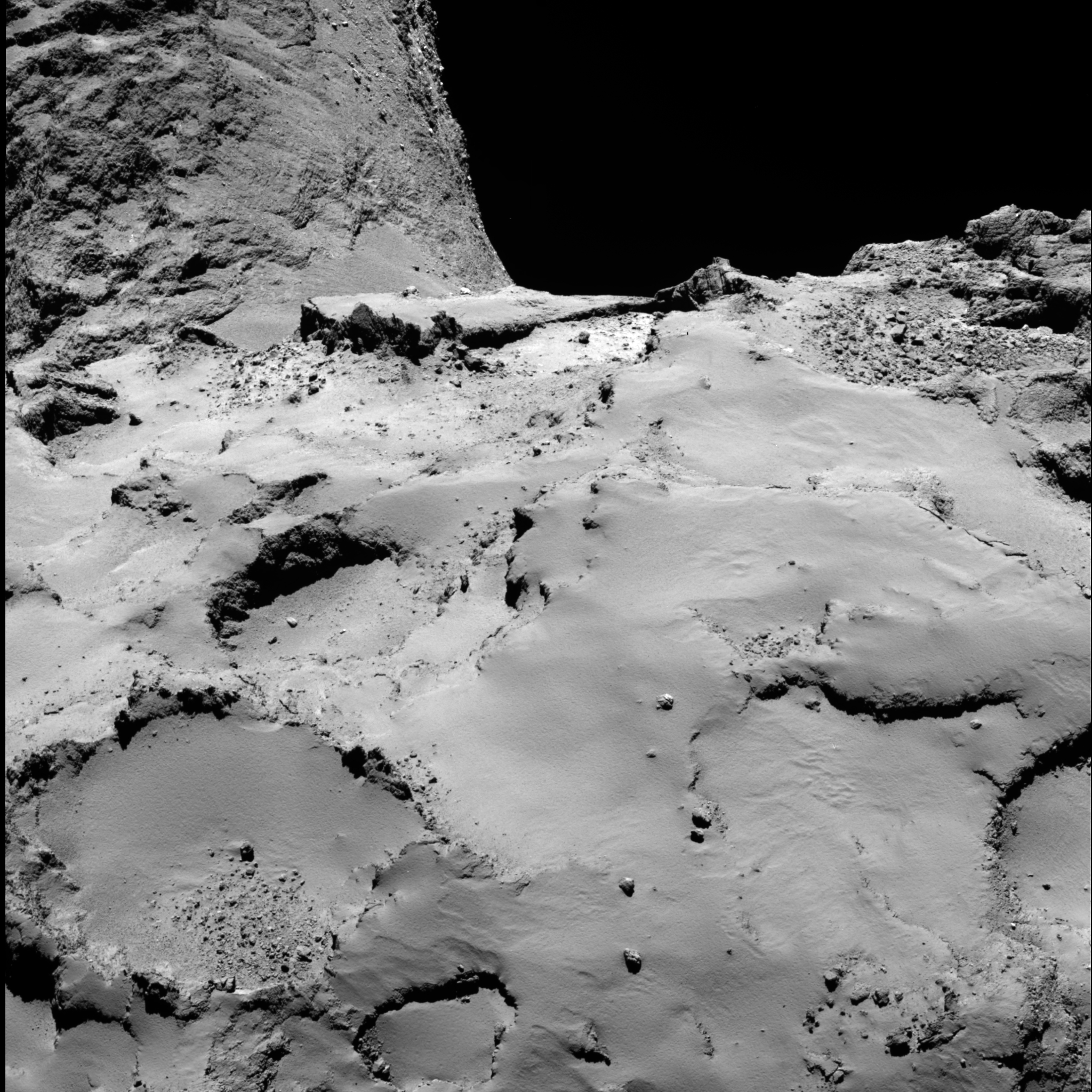Space in Images - 2014 - 10 - Philae's backup landing site ...