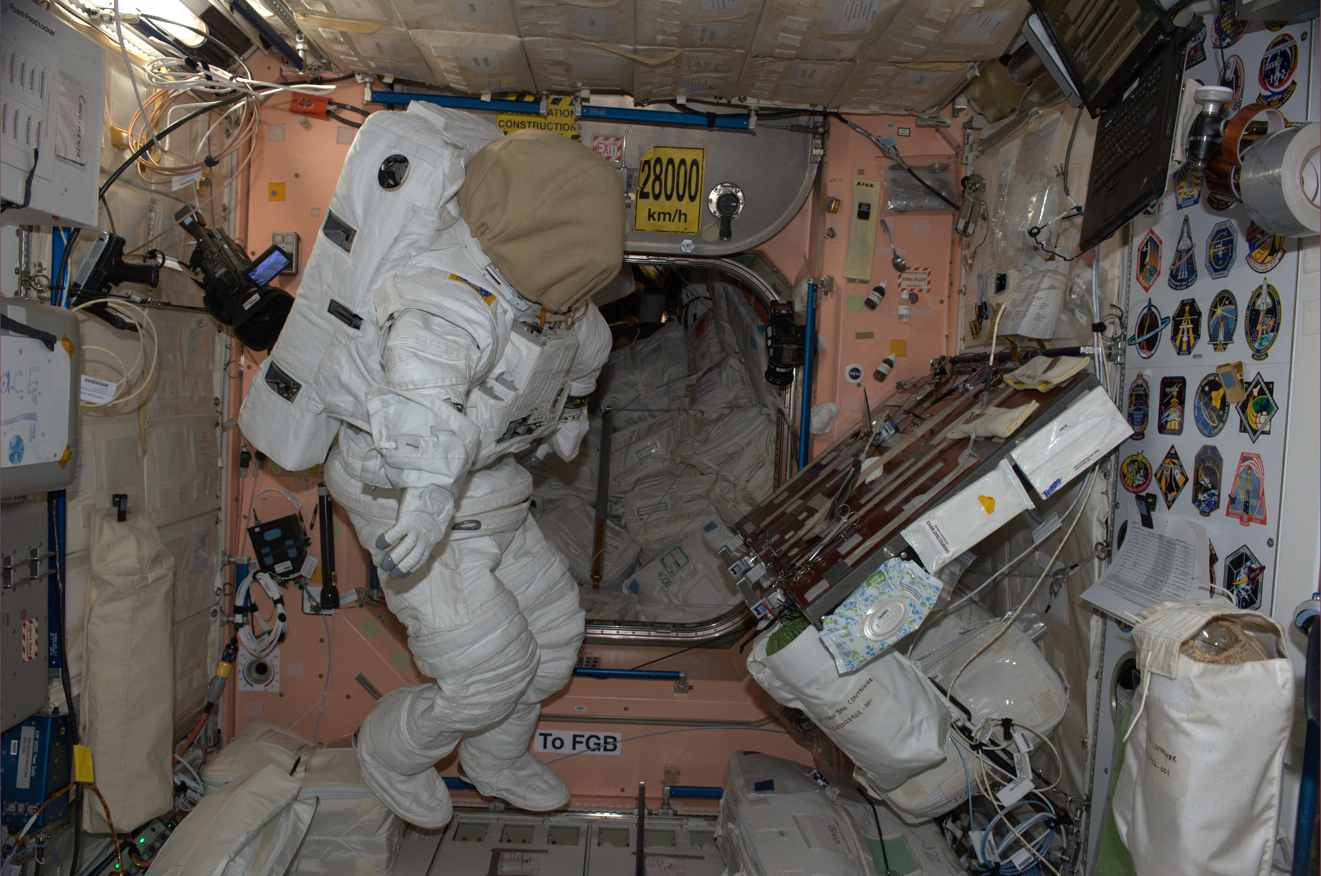 Space in Images - 2014 - 10 - Space Station spacesuit