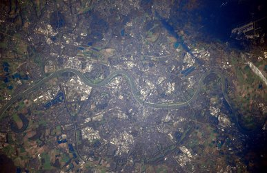 Cologne from space