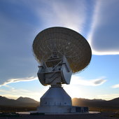 Views of the 35m ESTRACK deep-space tracking station in Argentina, now supporting the Rosetta mission Credit: D. Pazos