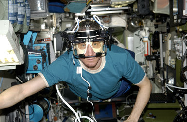 Eye tracking in space