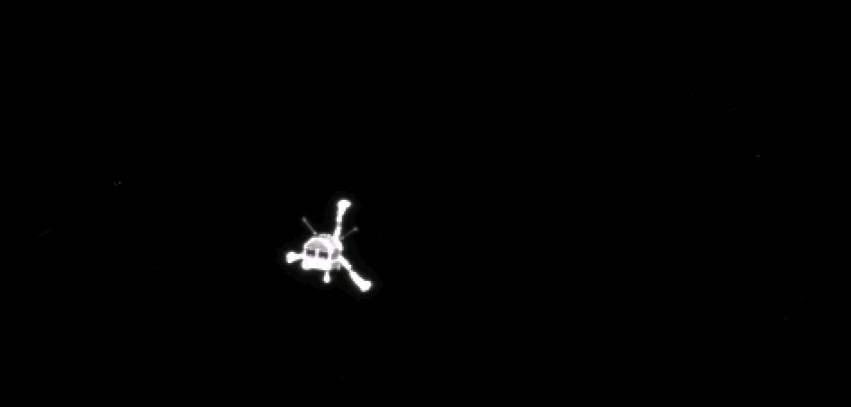 Farewell Philae - narrow-angle view