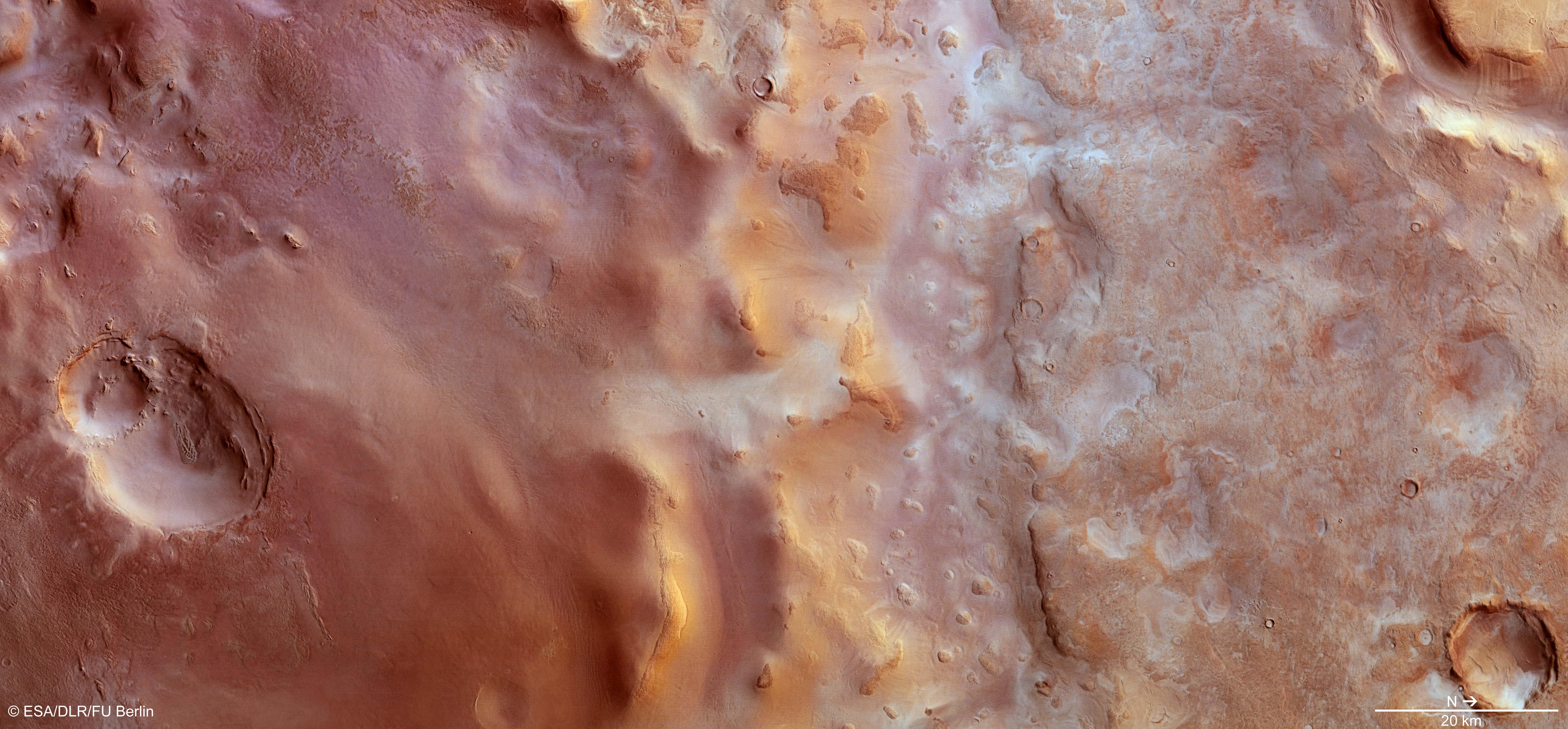 Πάχνη ξηρού πάγου καλύπτει την Ελλάδα του Άρη