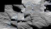 Erste Erkenntnisse �ber Churyumov-Gerasimenko: Harte Eisschichten und organische Molek�le