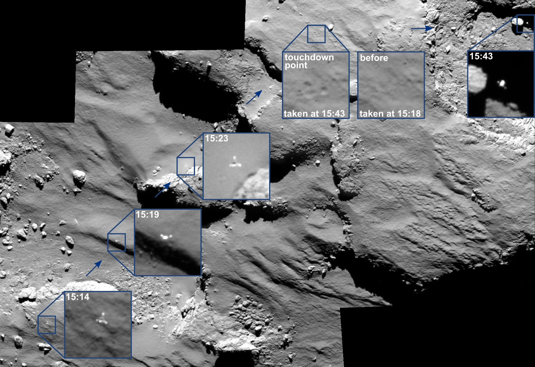 philae landings landers - photo #18