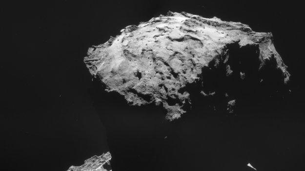 Philae's landing site –
