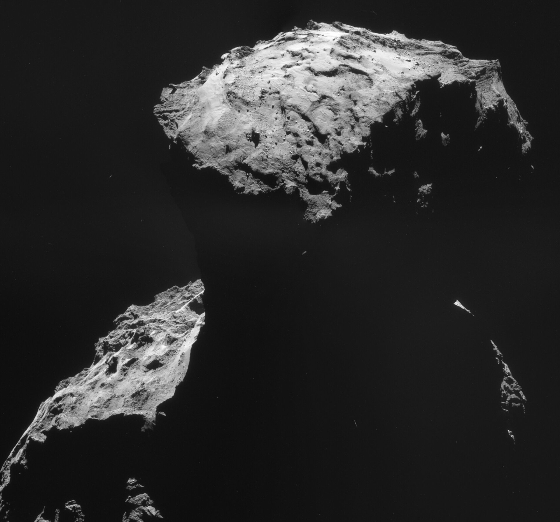 Philae's landing site – 30 October 2014