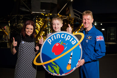 Principia logo with Lindsay, Troy and Tim