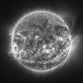 Our Sun as seen by the SWAP instrument on board ESA's SSA mission, Proba-2, on 31 October 2014.