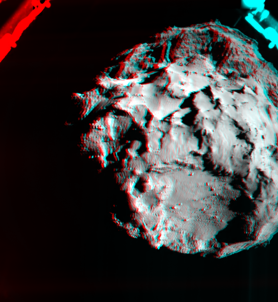 ROLIS descent image in 3D