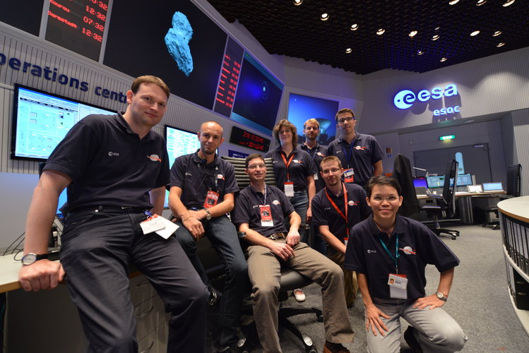 Rosetta Flight Control Team