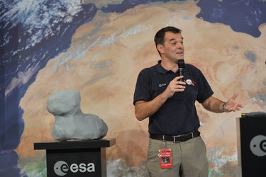Rosetta Flight Director Andrea Accomazzo