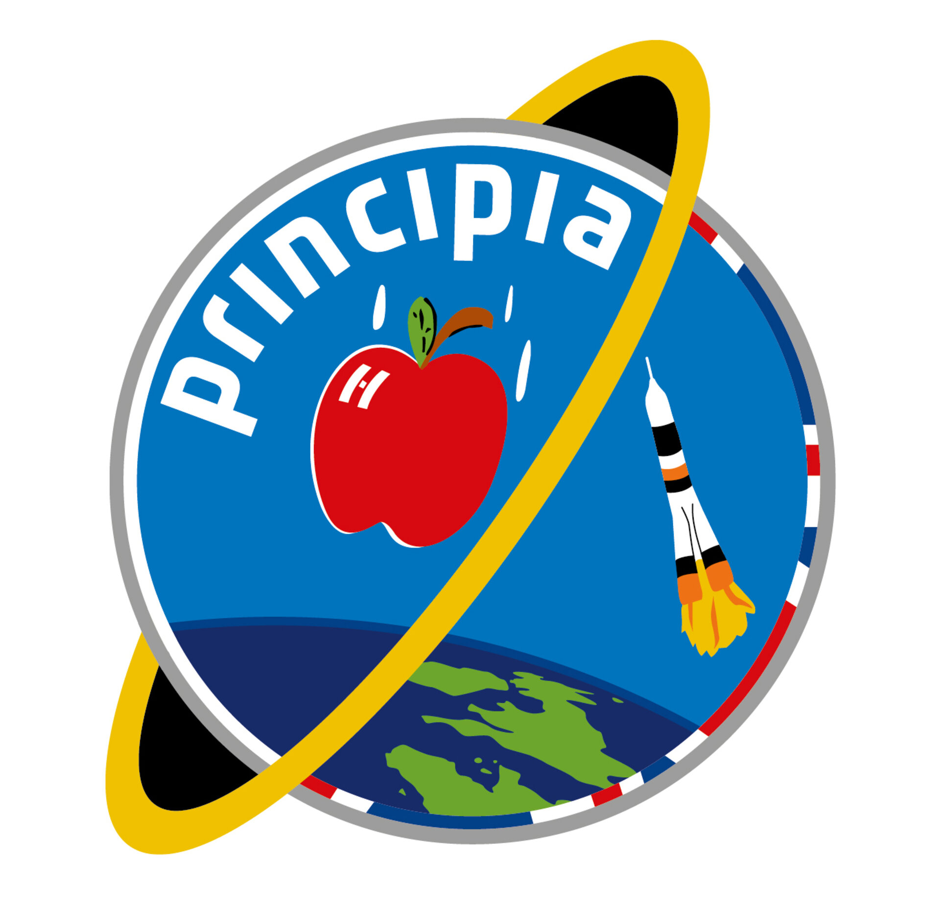 Soyuz TMA-19M, Principia mission patch, 2015