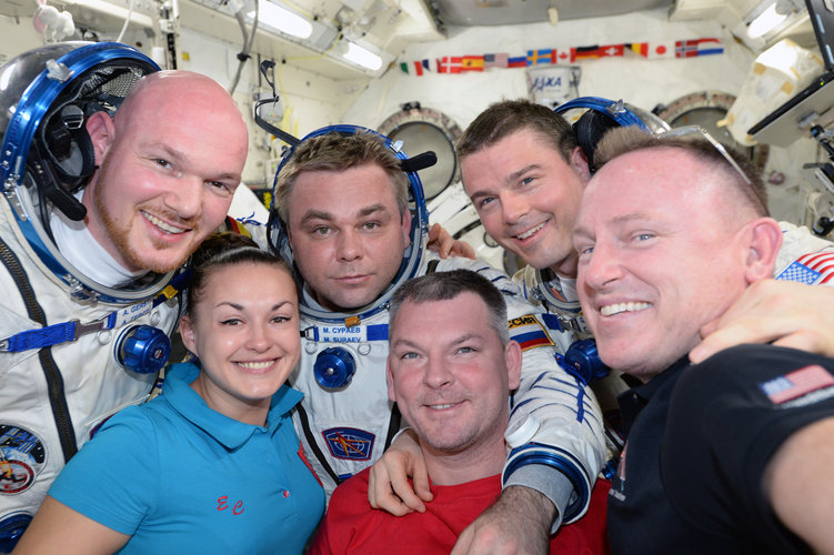 Space Station selfie