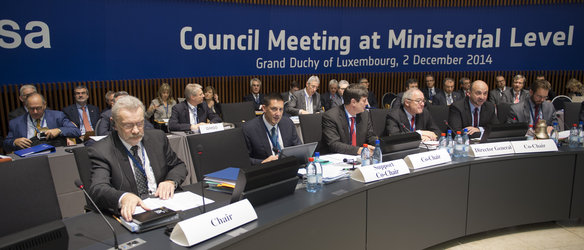 ESA Council at Ministerial Level, Luxembourg, on 2 December 2014