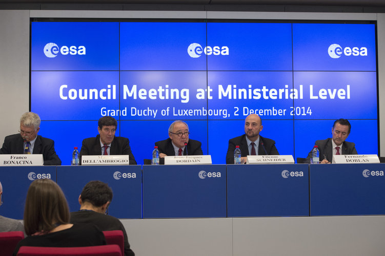 Ministerial Council press conference, Luxembourg, on 2 December 2014