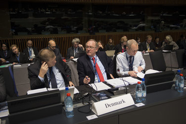Uffe Toudal Pedersen at the ESA Council at Ministerial Level