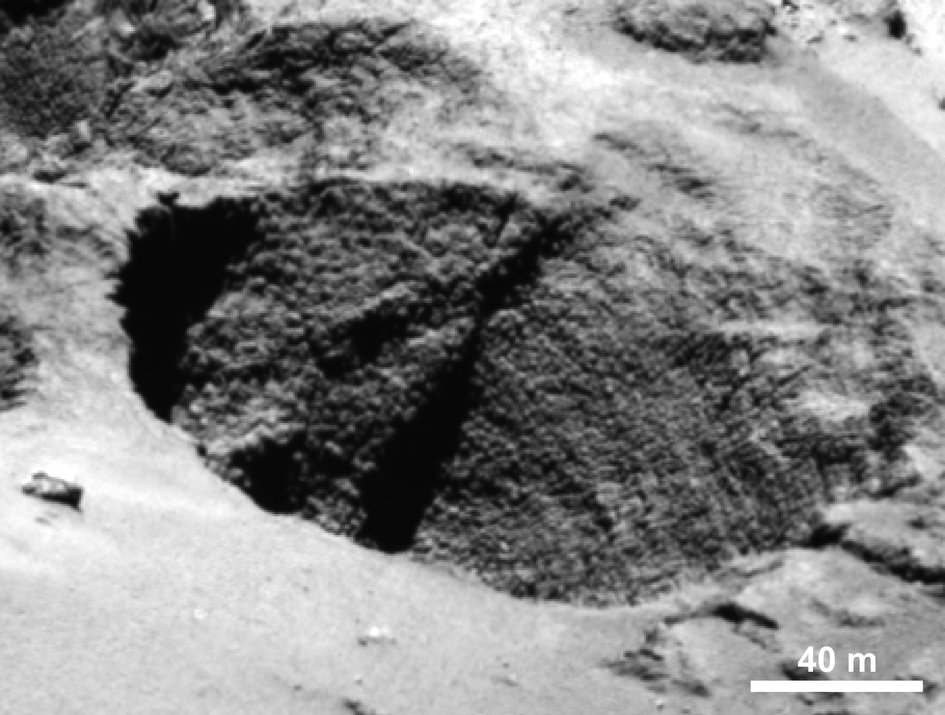 Mission Rosetta  Comet_goose_bumps_a_fullwidth