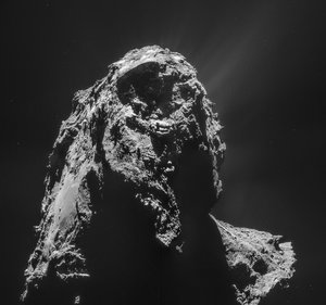 Comet on 12 January 2015 – NavCam