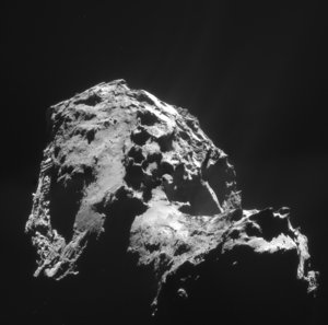 Comet on 1 January 2015 – NavCam
