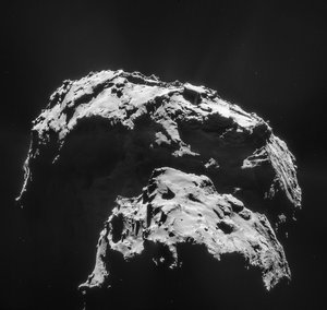 Comet on 21 January 2015 – NavCam