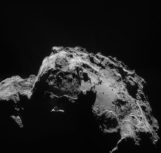 Comet on 3 January 2015 – NavCam