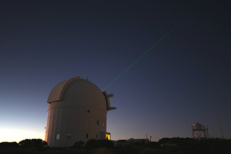 ESA's Optical Ground Station laser tags ISS